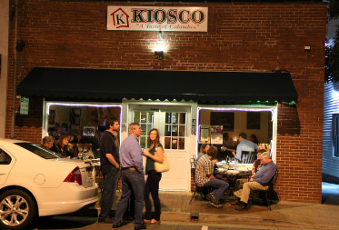 Kiosco restaurant for Kiosco bar prefabricado